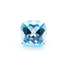 10mm Cushion Swiss Blue Topaz (TZCUSW10)