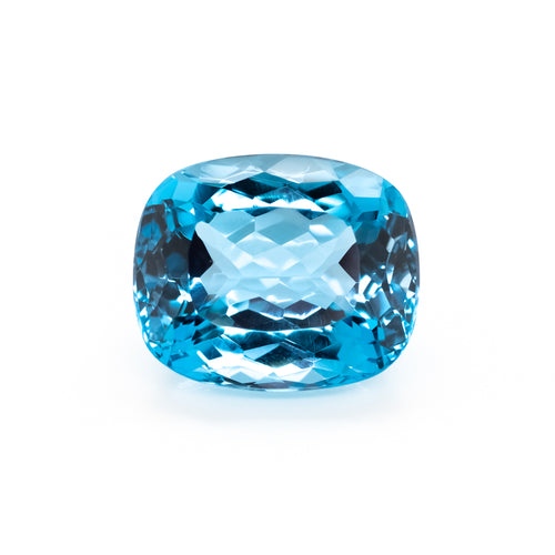 18x15mm Cushion London Blue Topaz (TZCUL10)