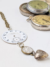 Load image into Gallery viewer, Stemwinder Collection up cycled Antique pocket watch