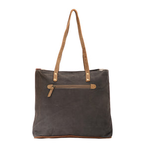 Bract Hair-on Stripe Tote