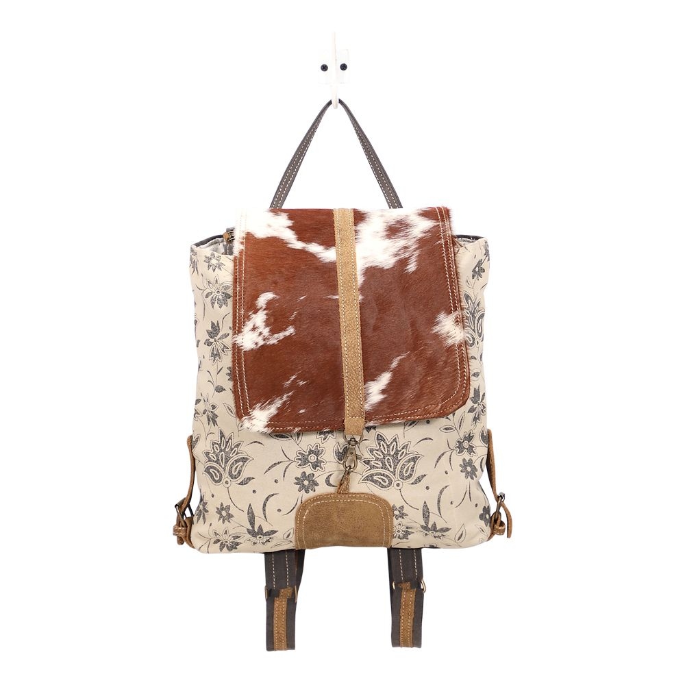 Bract Print Hairon Backpack