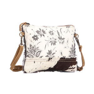 Bract Print Cross Body Bag