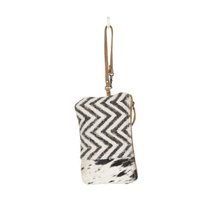 Chevron Hair on wristlett