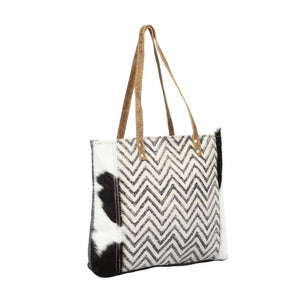 Cheveron Design Tote Bag