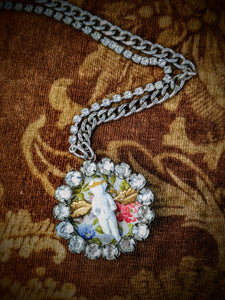 Frozen Charlotte Assemblage Necklace