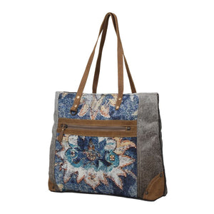 Shades of Blue Tote