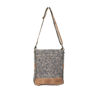 Walnut Canvas Shoulder Bag