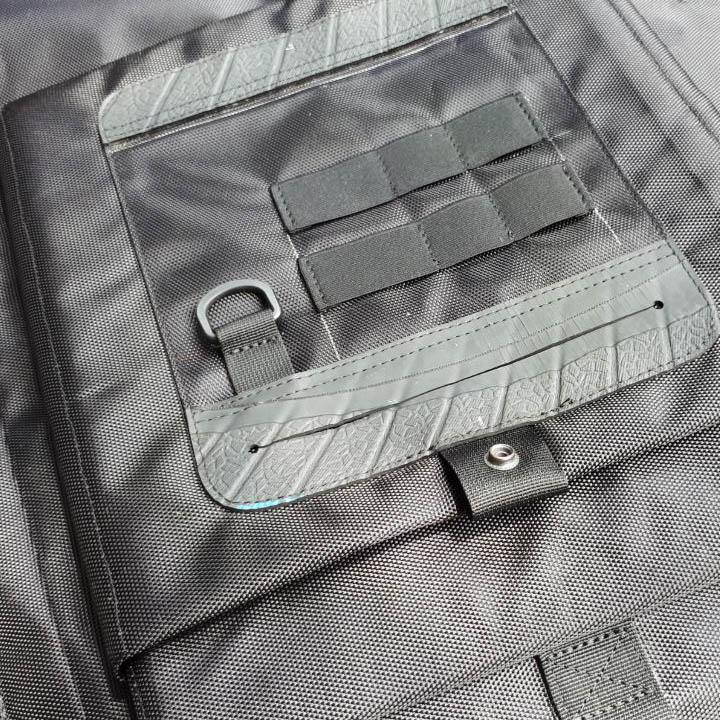 TROOPER - Water Resistant Roll Top Rucksack - sapuupcycle