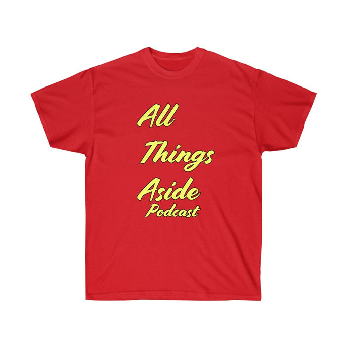All Things Aside Podcast Tee