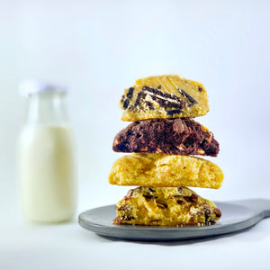 Homemade cookie stack