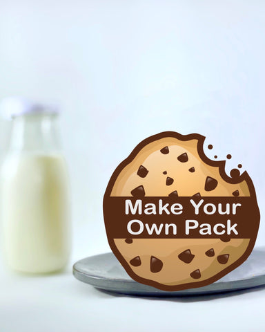 Make Your Own Variety Pack (4 Cookies) - Overdoughed Cookies