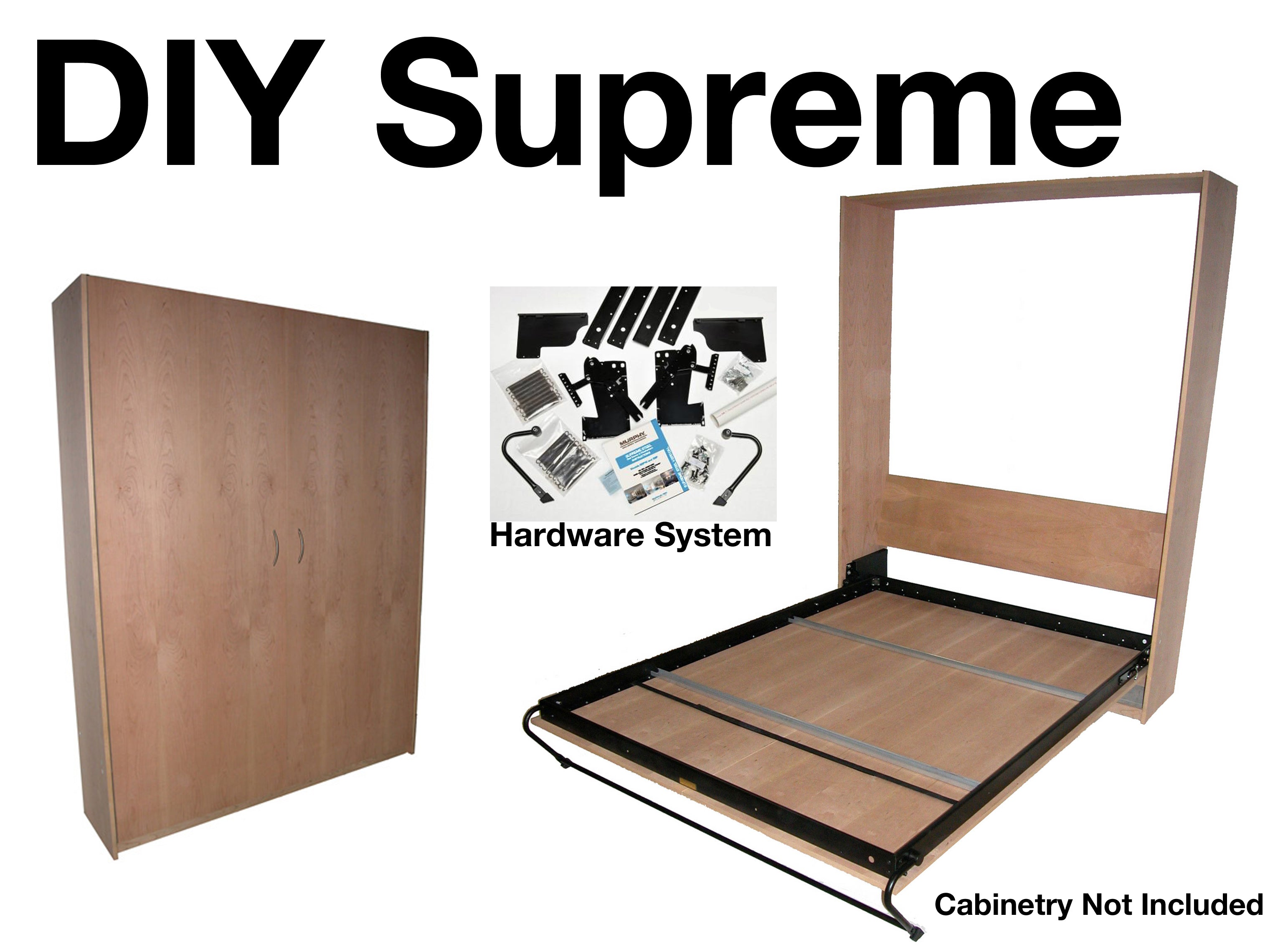 Upright Supreme, Murphy Bed Hardware, Steel Bed Frame ...