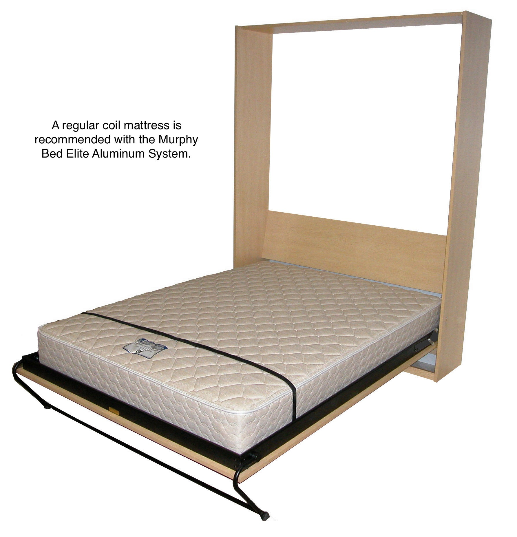 upright elite mattress - Murphy Bed Frame