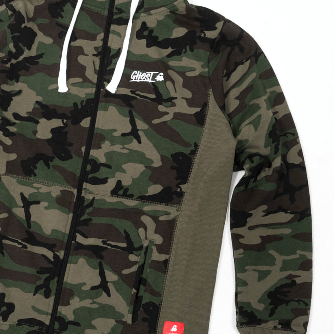 Apparel |GHOST® ZIP-UP HOODIE