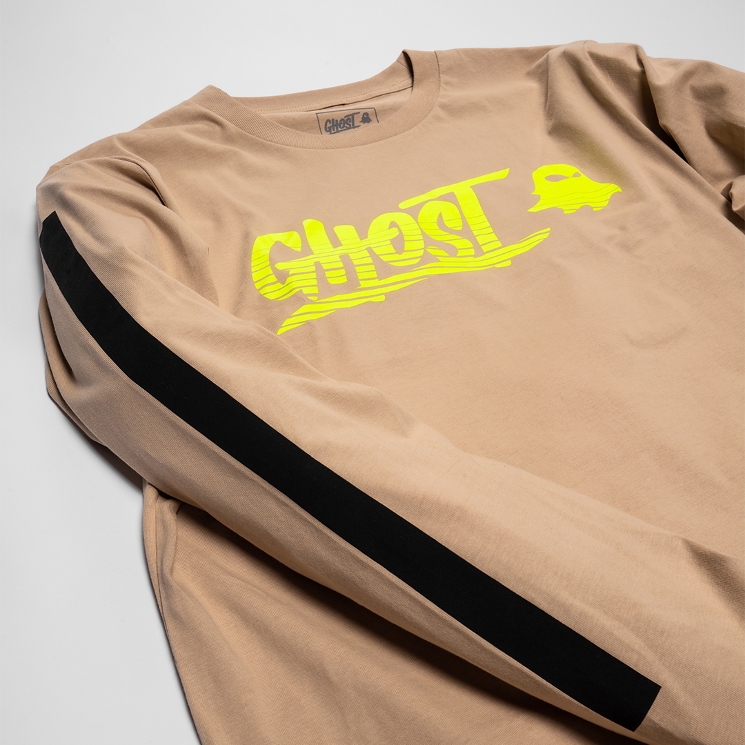 Apparel | GHOST® AUSTRALIA LONGSLEEVE Tan