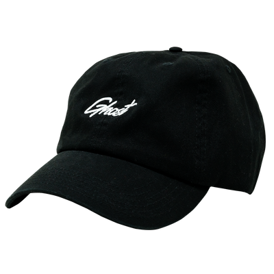 GHOST® DAD HAT Black