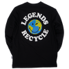 GHOST® RECYCLE LONG SLEEVE Black