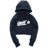 GHOST® WOMEN'S CROPPED HOODIE Navy