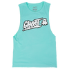 GHOST® GLITCH SLEEVELESS TEE