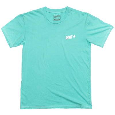 GHOST® GLITCH TEE Teal