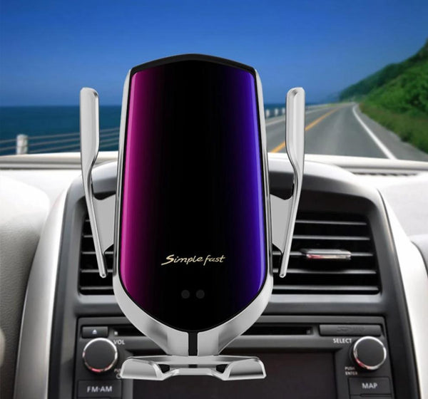 Wireless Auto Sensor Car Vent Mobile Phone Charger