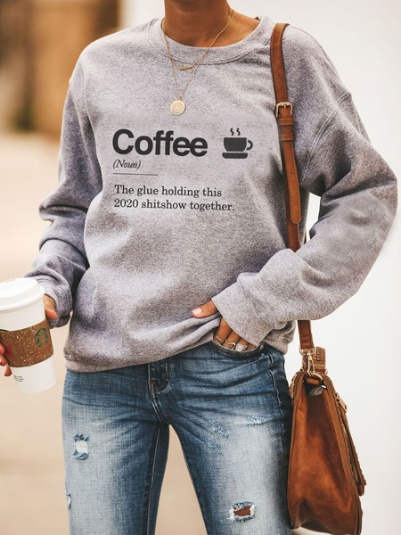 Coffee: The Glue Holding This 2020 Sh*tshow Together - Sweatshirts