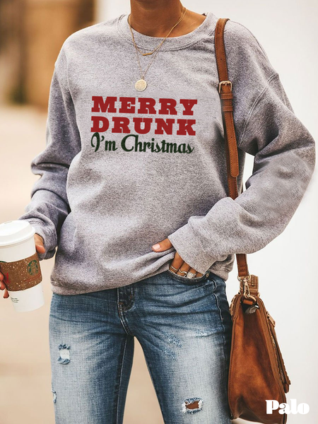 Merry Drunk, I'm Christmas - Sweatshirt