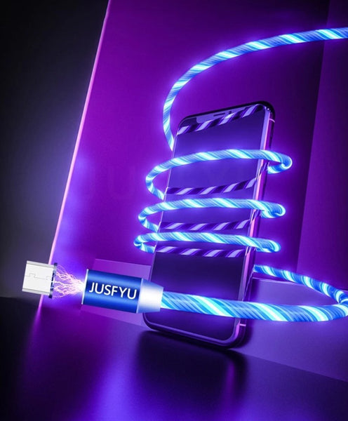 Bryte - LED Mobile Phone Charging Cable