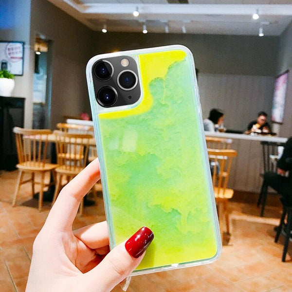 The Palo™ Liquid Neon iPhone Case