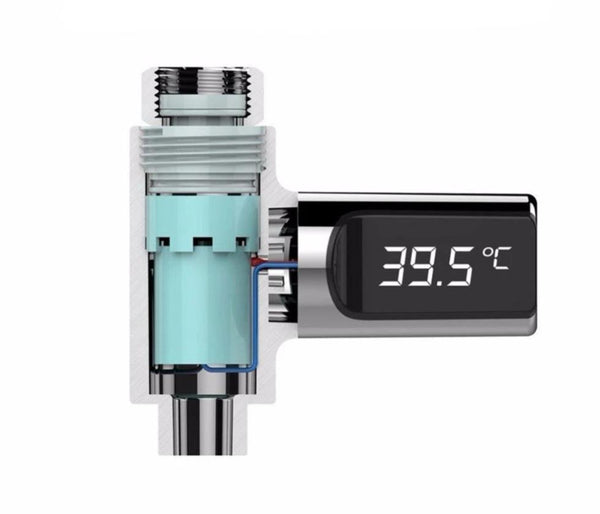 LED Digital Display Faucet Thermometer