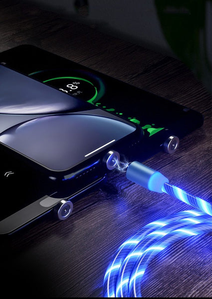 Magnetic LED Charging Cable