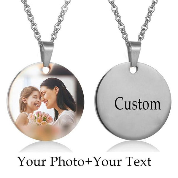 Custom Picture Pendant Necklace