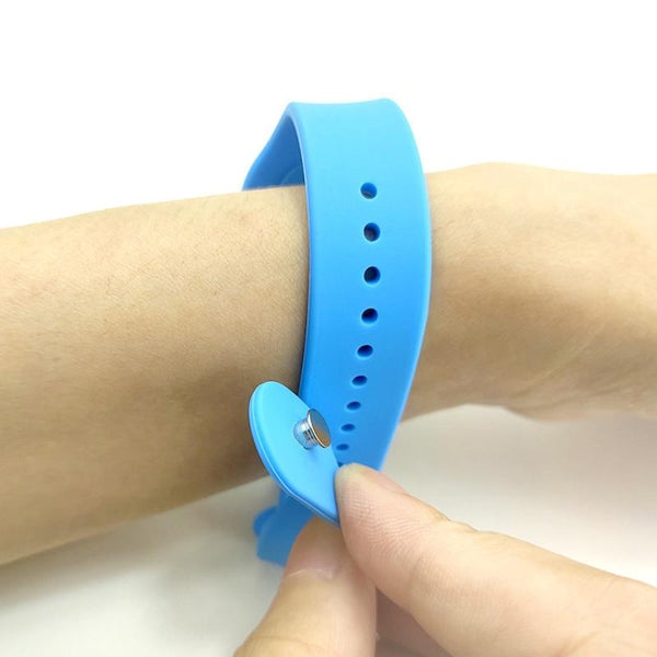 Silicone Hand Sanitizer Wristband
