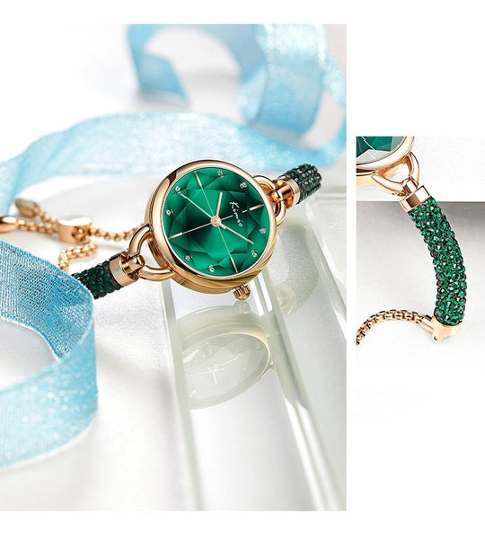 Eladia - Crystal Bracelet Watch