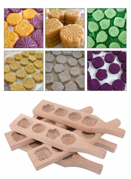 Artisan Christmas Cookie Molds