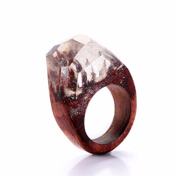 Siberia™ - Custom Wood Resin Rings + 2 FREE Necklaces