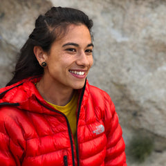 Nina Williams at the 2019 Calgary Mountain Film Festival