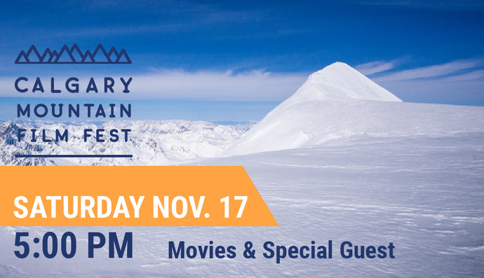 CMFF Movies & Special Guest — Sat Nov. 17 at 5:00 PM (4:15 PM Doors Open)