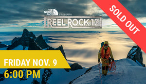 REEL ROCK 13 — Fri Nov. 9 at 6:00 PM  (5:15 PM Doors Open)