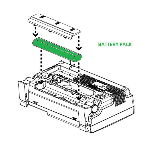 Battery Pack Option 02 per analizzatore di spettro GW Instek GSP-9330  Upgrade Option