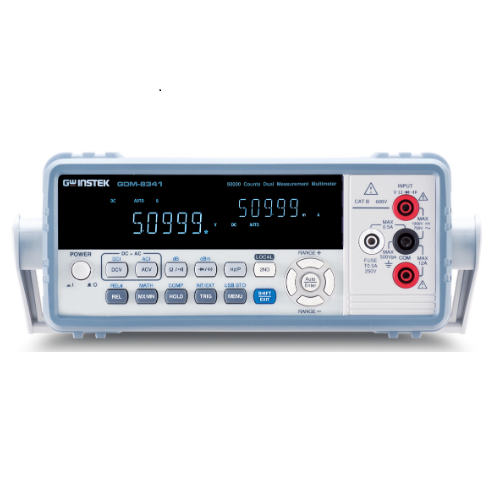 Multimetro dual measurement  GW Instek  GDM-8341  50.000 counts