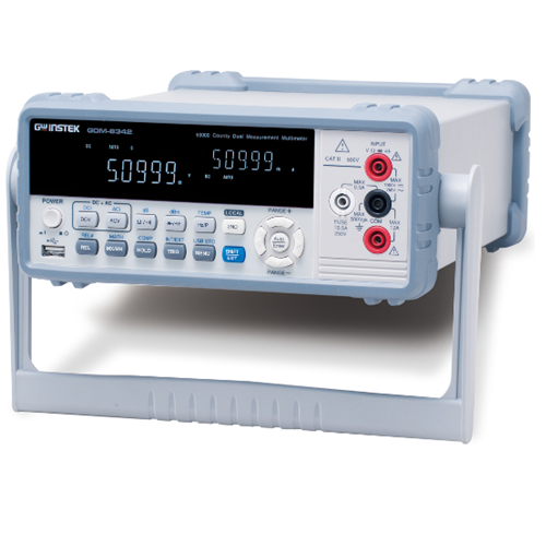 Multimetro dual measurement  GW Instek  GDM-8342  50.000 counts