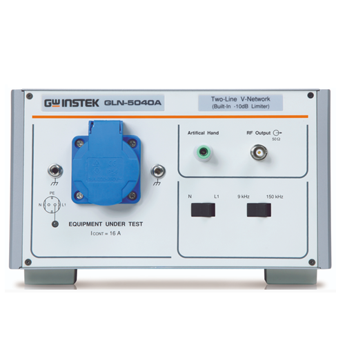 GW Instek GLN-5040A Line Impedance Stabilization Network (LISN) Upgrade option per GSP-Series