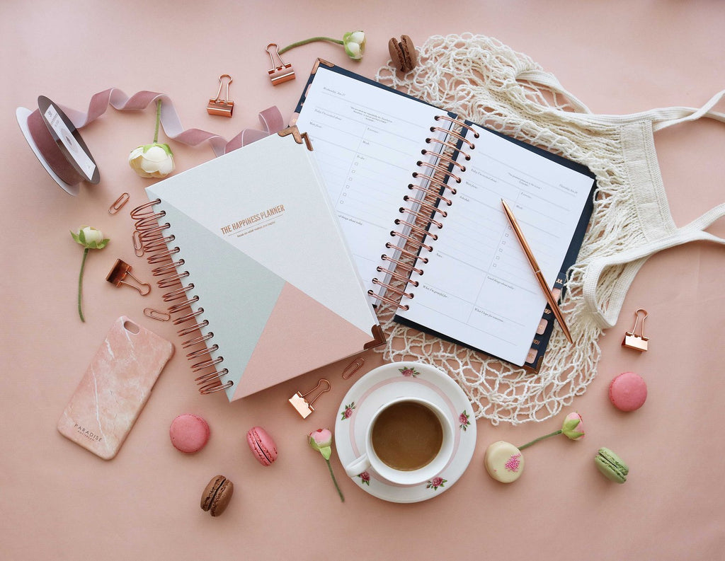 Weekly Undated Happiness Planner
