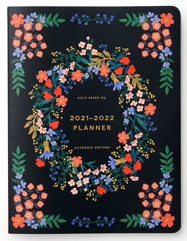 Rifle Paper Co. Aug 2021- Jul 2022 Academic Planner - Luxembourg