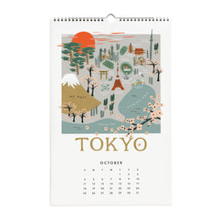 Rifle Paper Co. 2020 City Maps Calendar