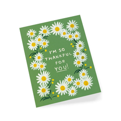 Rifle Paper Co Daisies Thank You Card