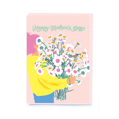 noi Happy Mother's Day Bouquet Card