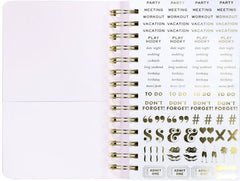 Kate Spade New York 2020 Planner Sticker Pages