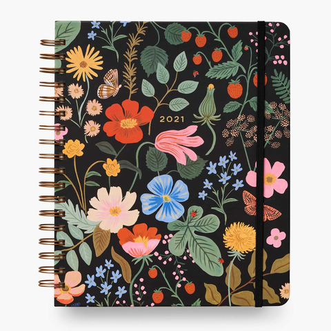 Rifle Paper Co Large Strawberry Fields Planner
